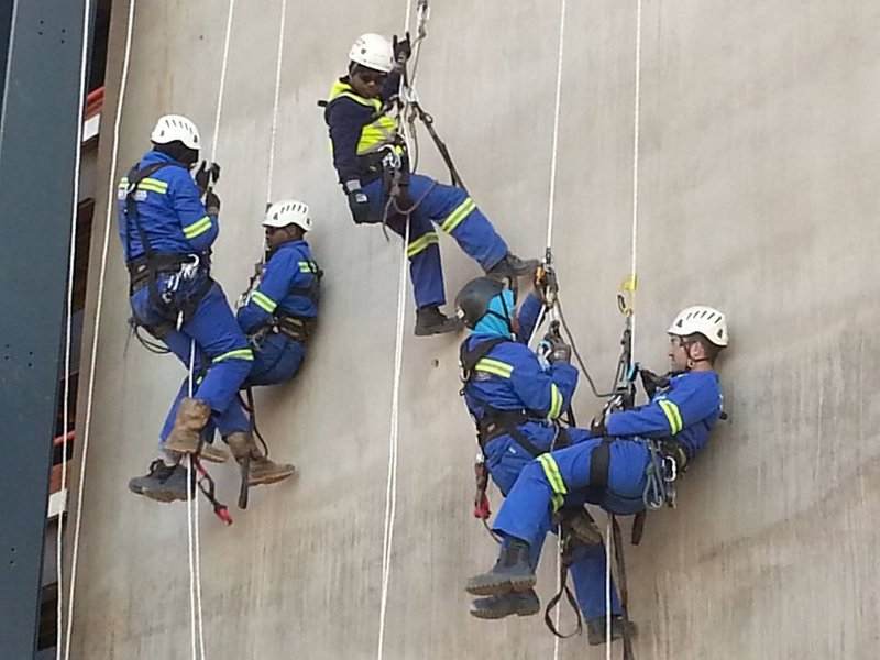 WORKING AT HEIGHTS AND SCAFFOLDING TRAINING.
