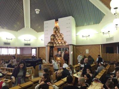 ביקור תלמידים בבית הכנסת
