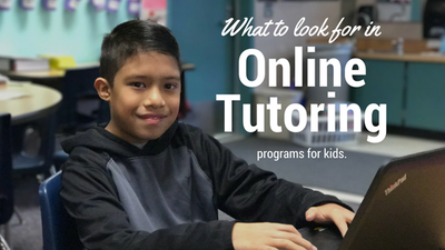 Parents Turn to Online Tutors to Help Keep Kids Learning and Motivated