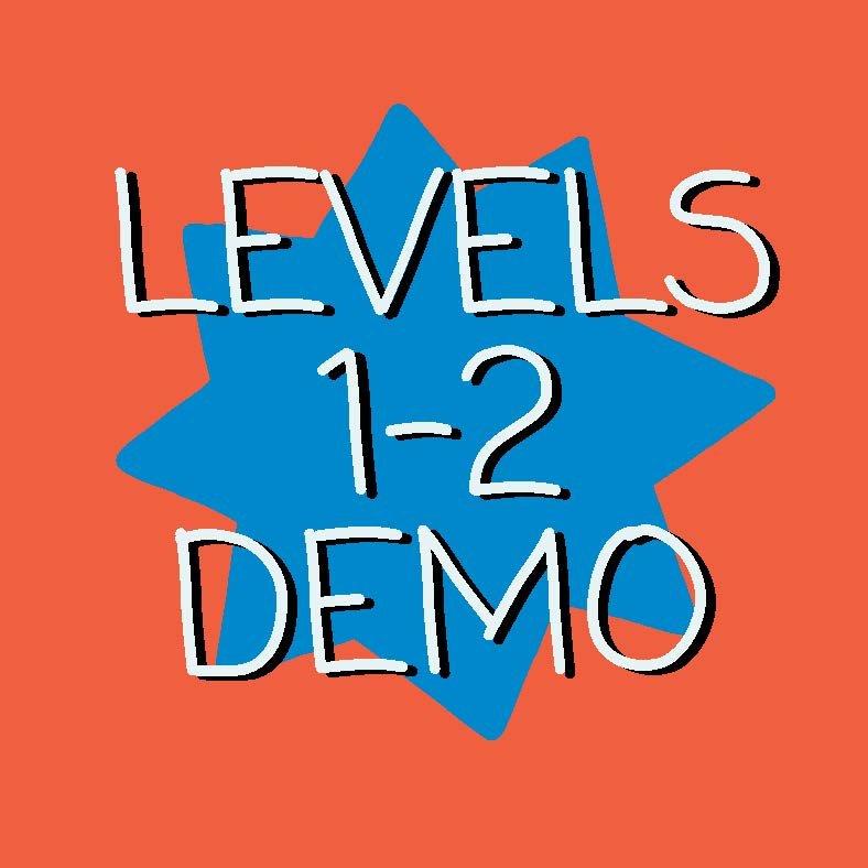 Demonstration Tests Levels 1 -2