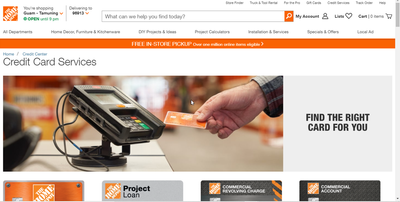 My Home Depot Credit Card: How to Apply?