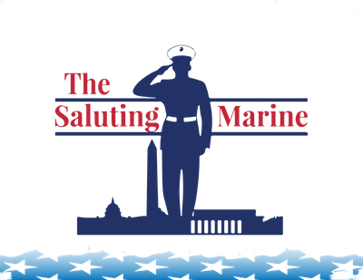 The Saluting Marine