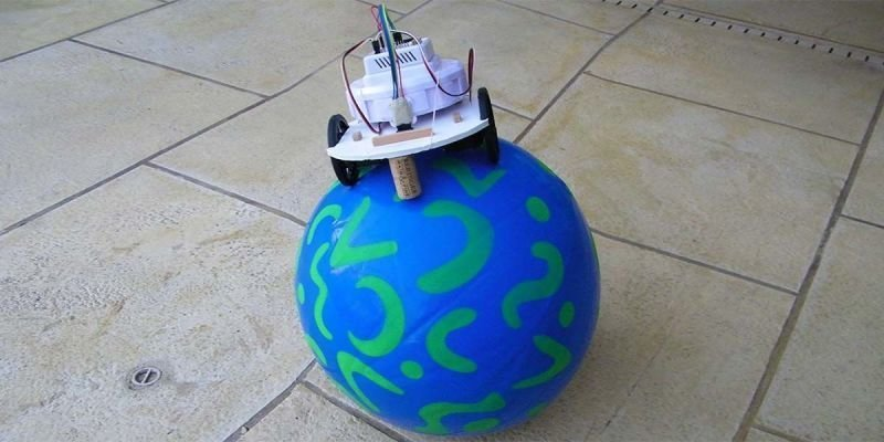 Balancing a Robot on a Ball