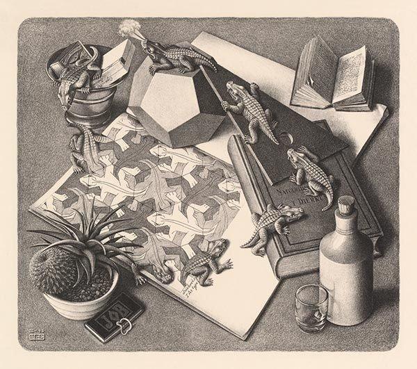 Reptiles (M. C. Escher)