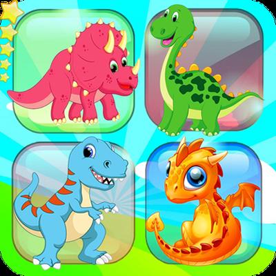 Memory game - Dinosaur matching