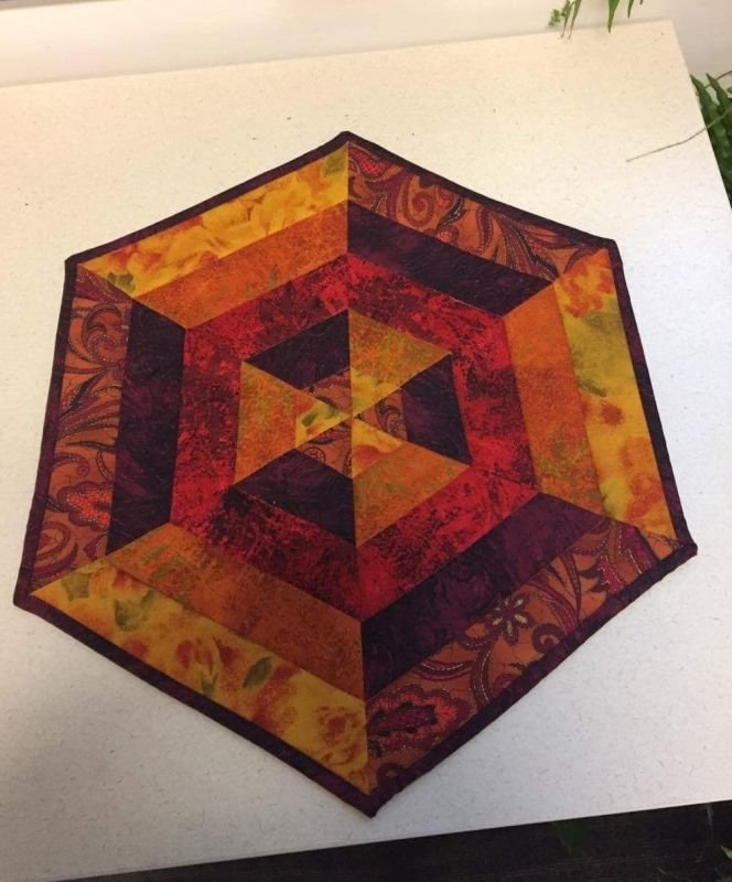 Fall Table Top Quilt