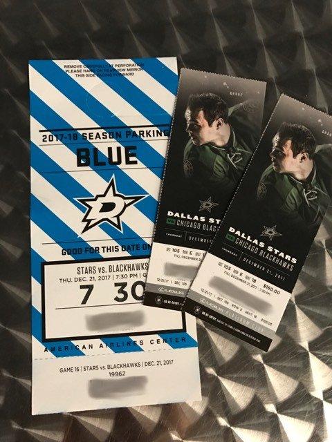 2 Dallas Stars tickets