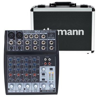 Noleggio Behringer Xenyx 802 Mixer 8 ingressi per Voce e Strumenti