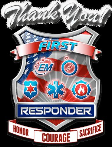 Firefighters, EMS, Police & Veterans