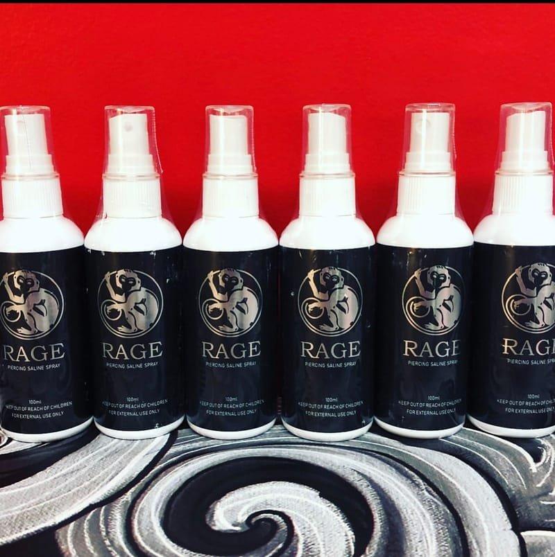 Rage saline spray