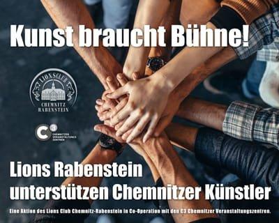 Wir unterstützen Chemnitzer Kulturschaffende