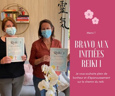 Formation et initiations reiki
